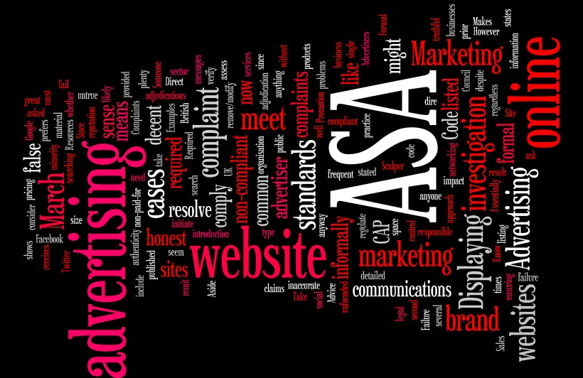 The Advertising Standard Authority (ASA) and Websites