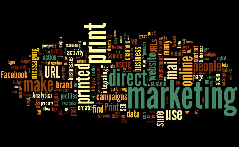 Integrate Print and Online Marketing