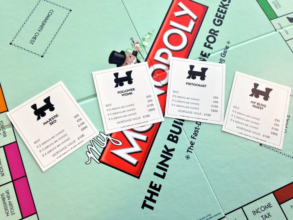 Link Building Monopoly - Yes, for Real! | Tecmark: www.tecmark.co.uk/link-building-monopoly