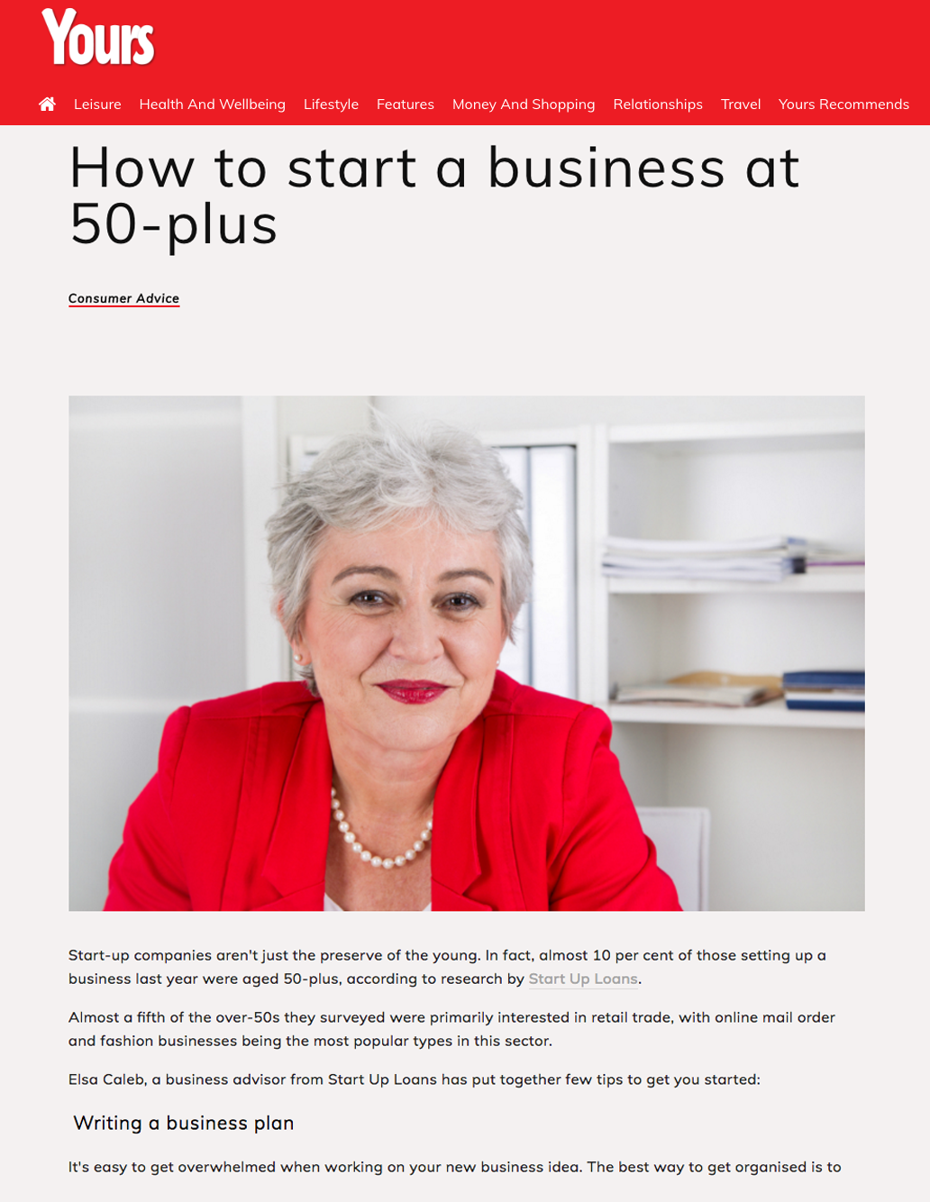 How to start a business at 50-plus