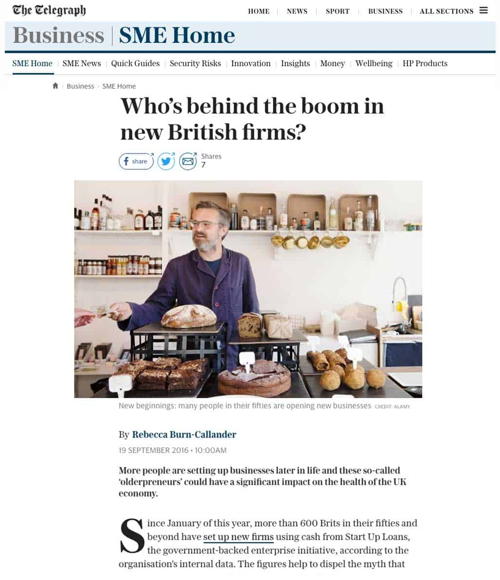Who's behind the boom in new British firms?