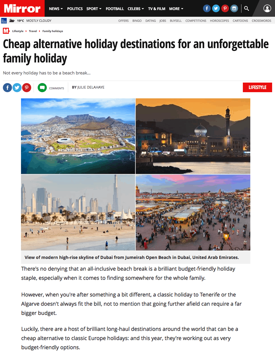 Cheap alternative holiday destinations for an unforgettable family holiday