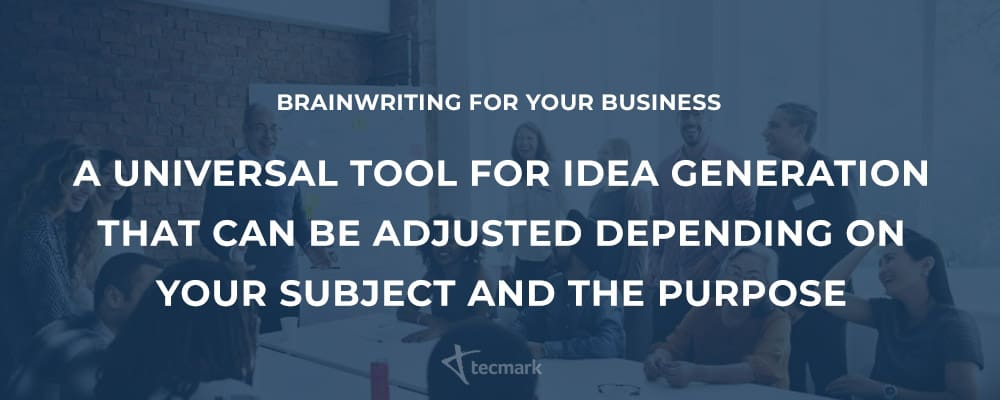 Brainwriting for your Business summary