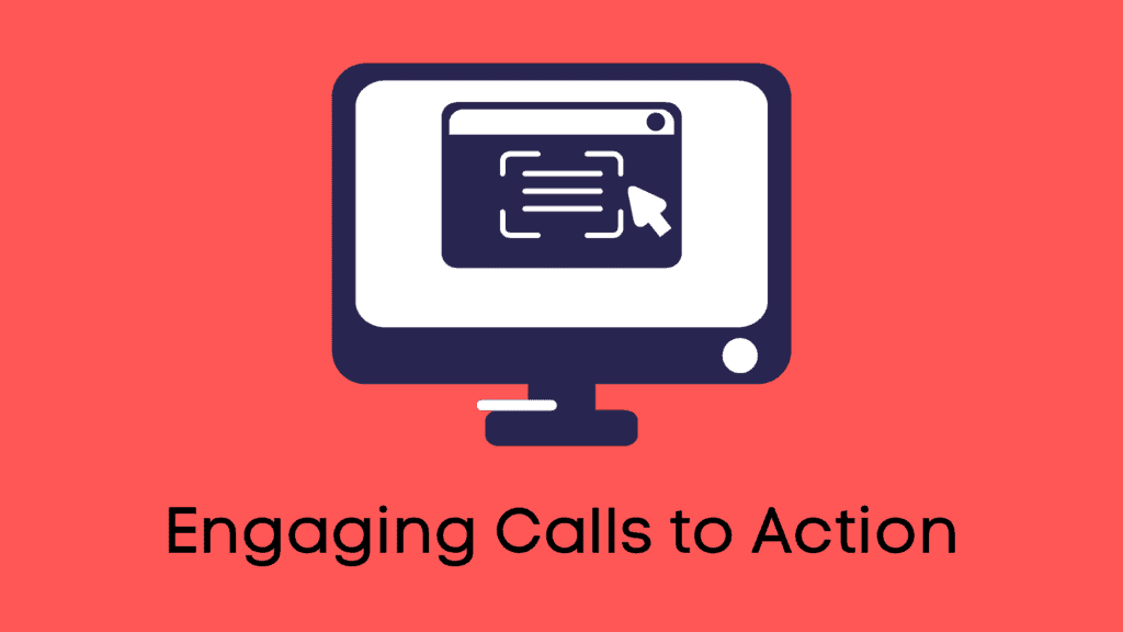 Engaging calls to action - important elements of web design