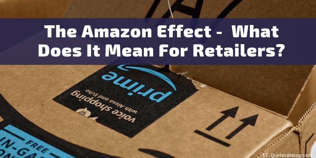 The Amazon effect