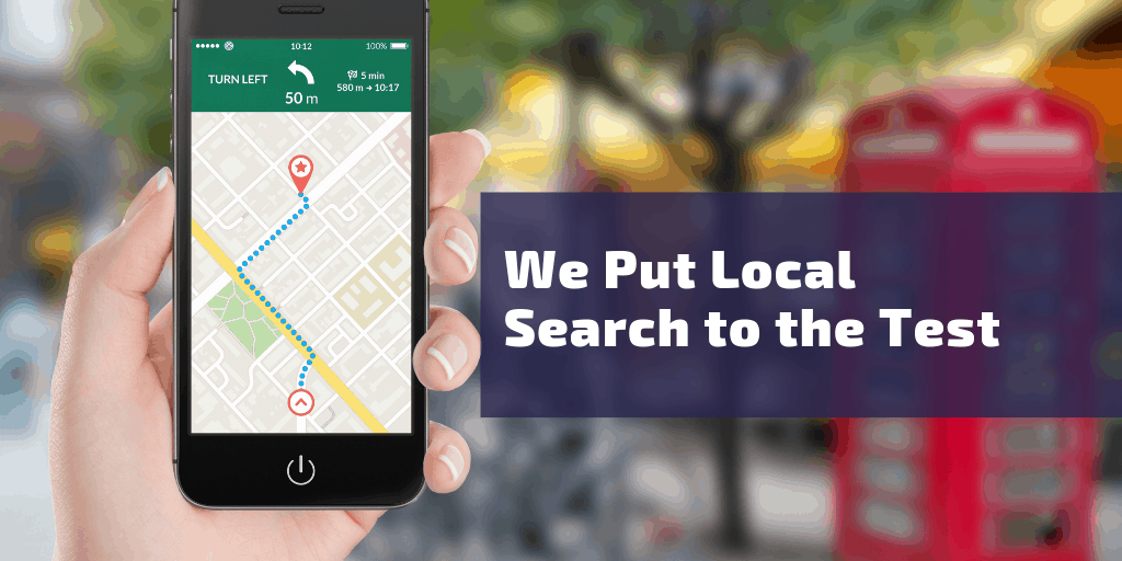 We Put Local Search to the Test